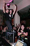Klub Hard Rock Cafe zažil tanec fanynek baru